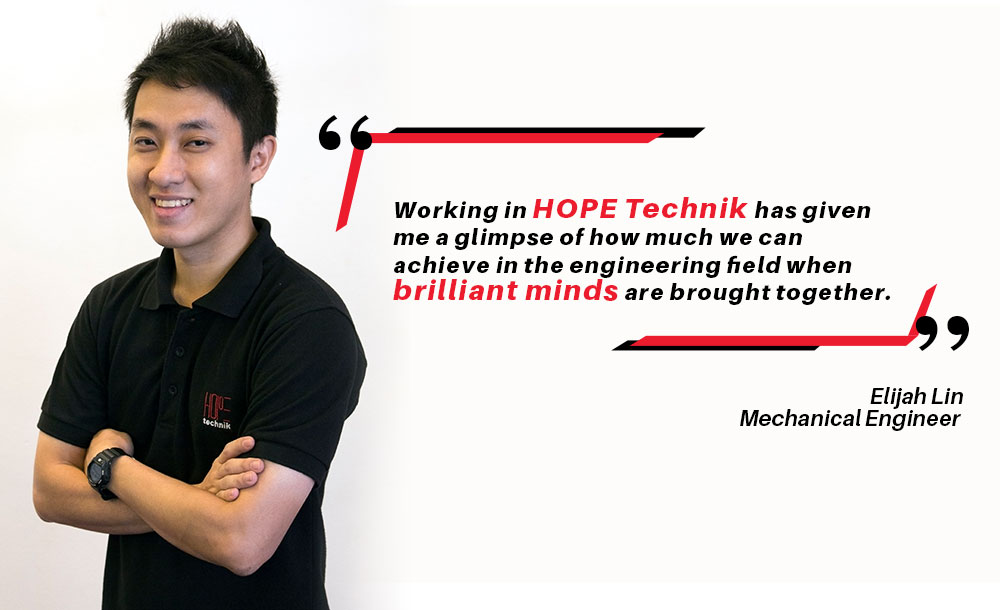 Elijah Lin, explains the importance of teamwork to achieve a breakthrough in engineering